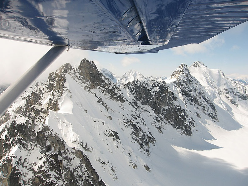 Flight  to Talkeetna